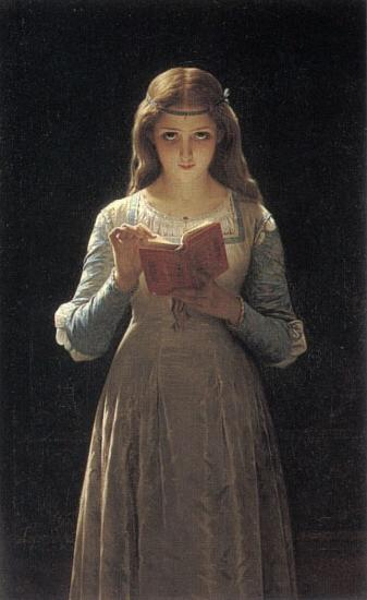 Pierre-Auguste Cot Pause for Thought