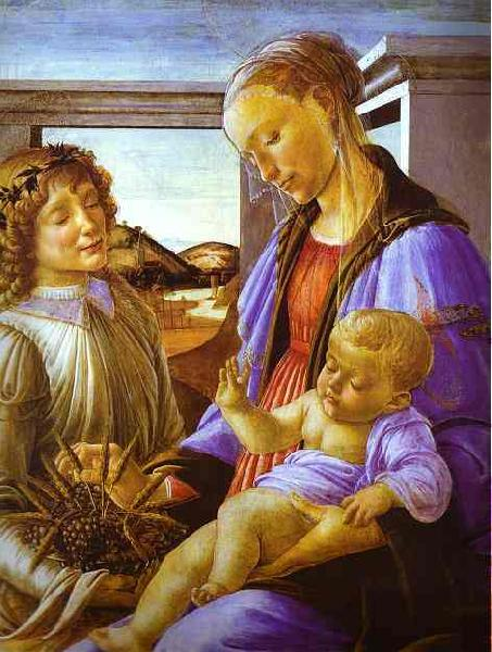 Sandro Botticelli Madonna of the Eucharist