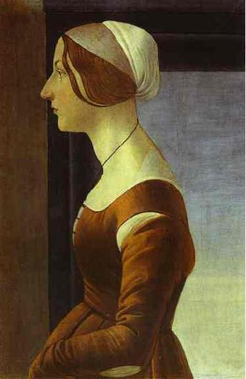 Sandro Botticelli Portrait of a Woman