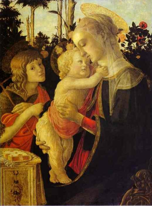 Sandro Botticelli The Virgin and Child The Virgin and Child The Virgin and Child with John the Baptist