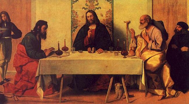 Vincenzo Catena The Supper at Emmaus