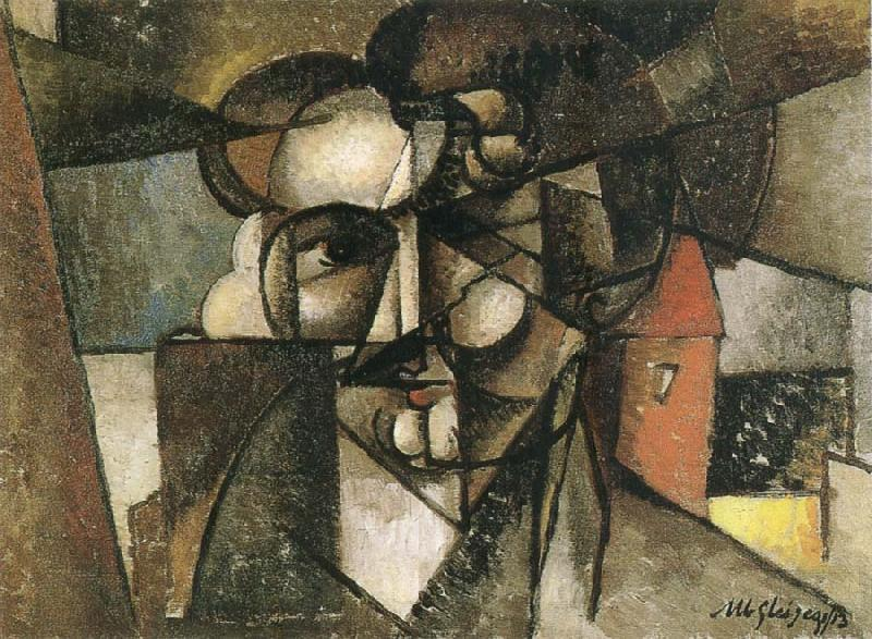 Juan Gris The head of man