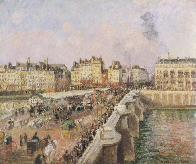 Camille Pissarro Afternoon sunshine