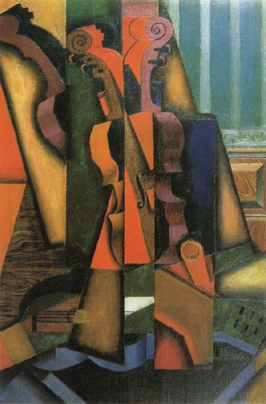 Juan Gris Fiddle and Guitar