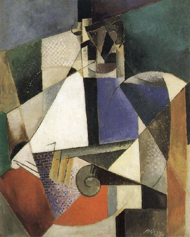 Juan Gris The Portrait of Surgeon