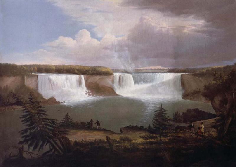 Alvan Fisher A General View of the  Falls of Niagara