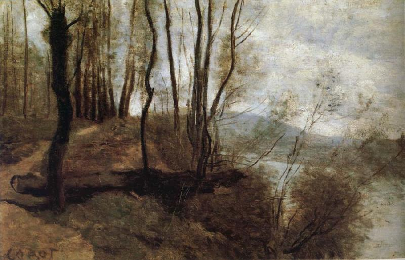 Corot Camille Path on the Rlo