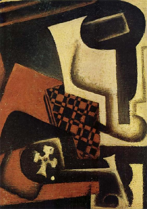 Juan Gris The Still life on the table
