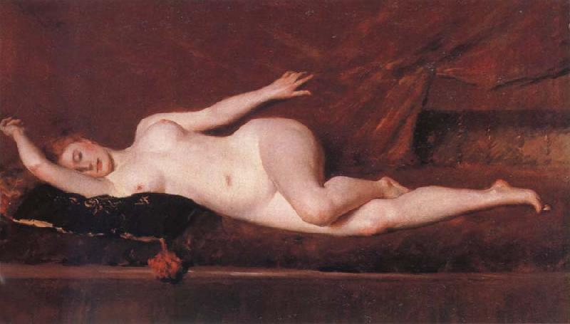 William Merritt Chase Study of curves