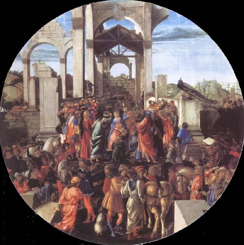 Sandro Botticelli Adoration of the Kings