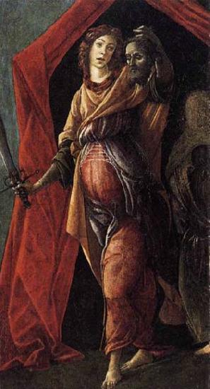 BOTTICELLI, Sandro Judith Leaving the Tent of Holofernes