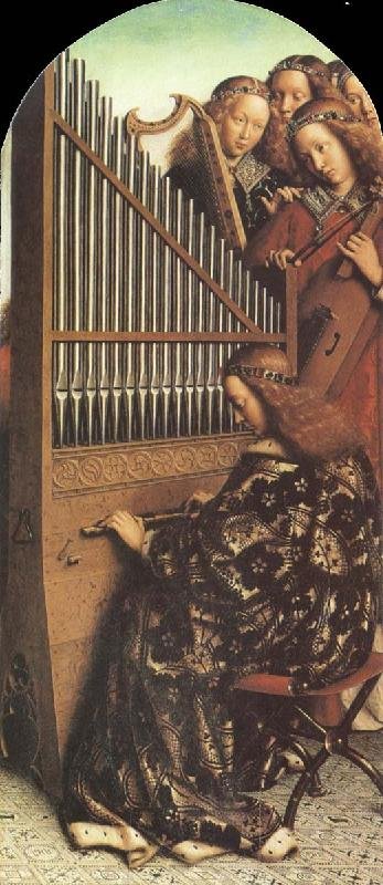 Jan Van Eyck Organ from The Ghent Altarpiece