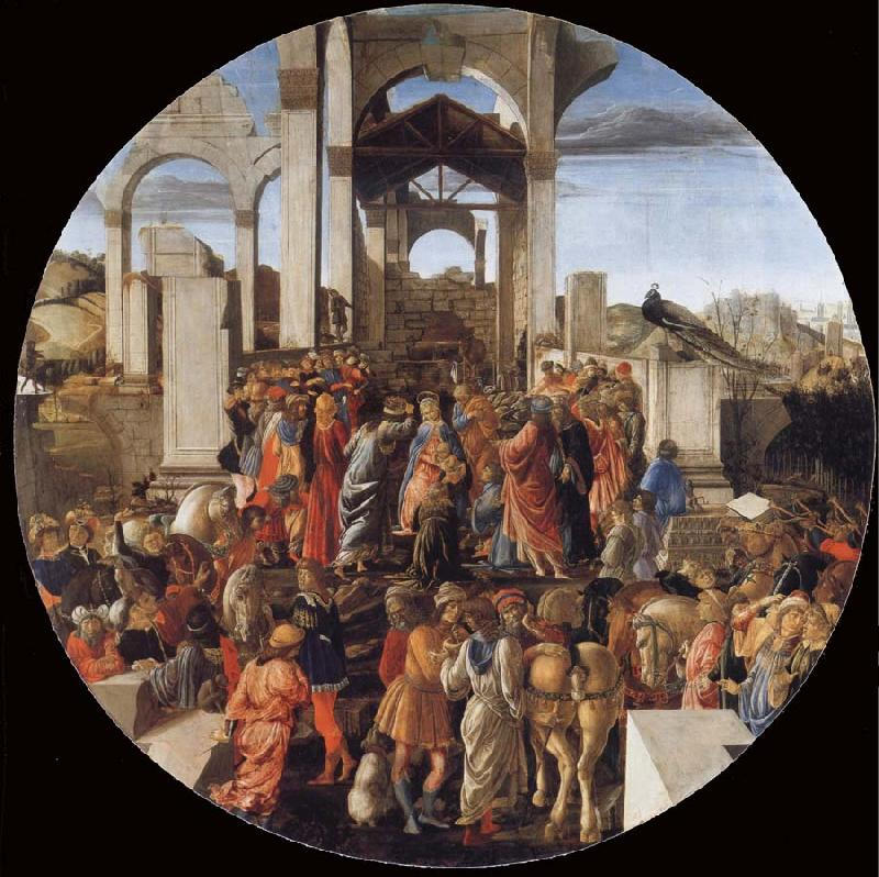 Sandro Botticelli The Adoration of the Kings