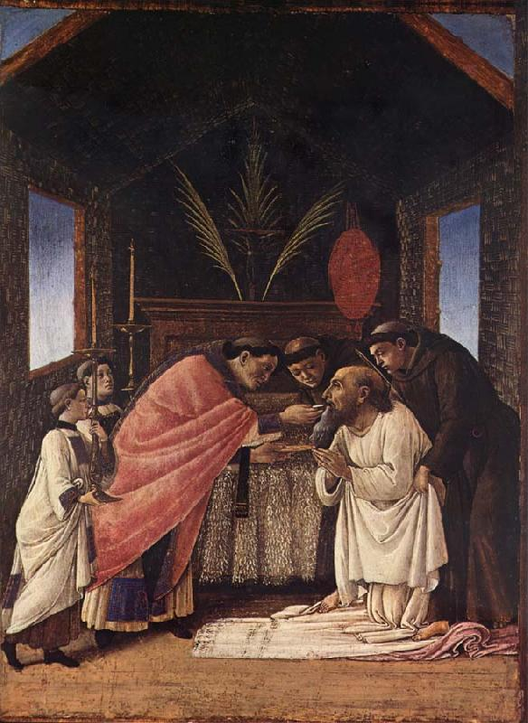 Sandro Botticelli Last Communion of St.Jerome