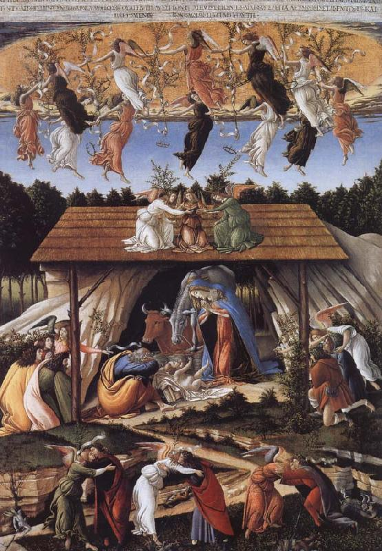 Sandro Botticelli Mystic Nativity