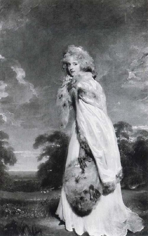 Sir Thomas Lawrence Elizabeth Farren,Later Countess of Derby