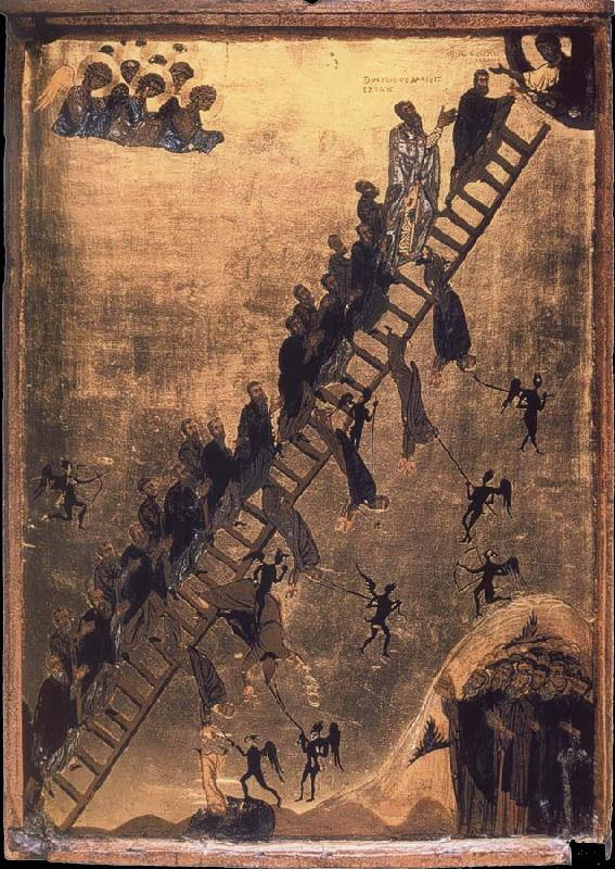 unknow artist The Spiritual Ladder of Saint John Climacus