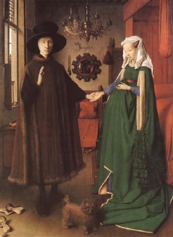 Jan Van Eyck Giovanna Cenami and Giovanni Arnolfini