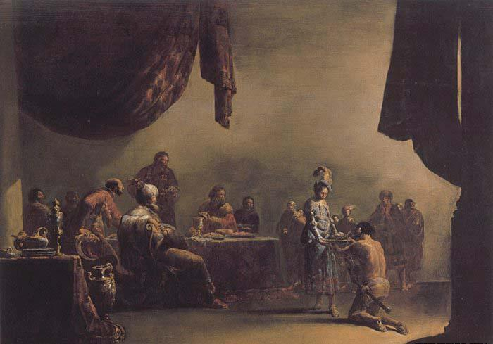 BRAMER, Leonaert Salome Presented with the Head of St John the Baptist