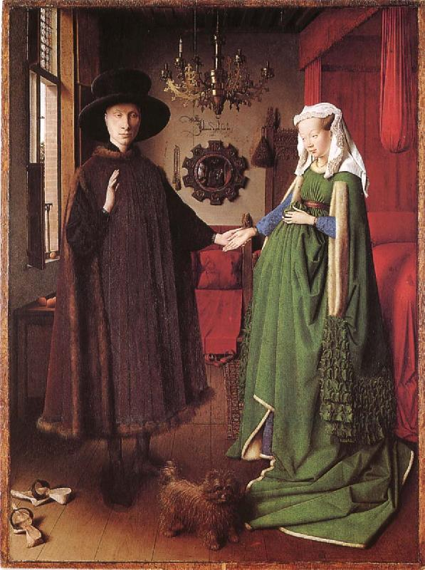 Jan Van Eyck The couple Arnolfinis brollop