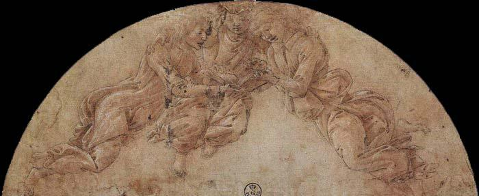 Sandro Botticelli Three Angels