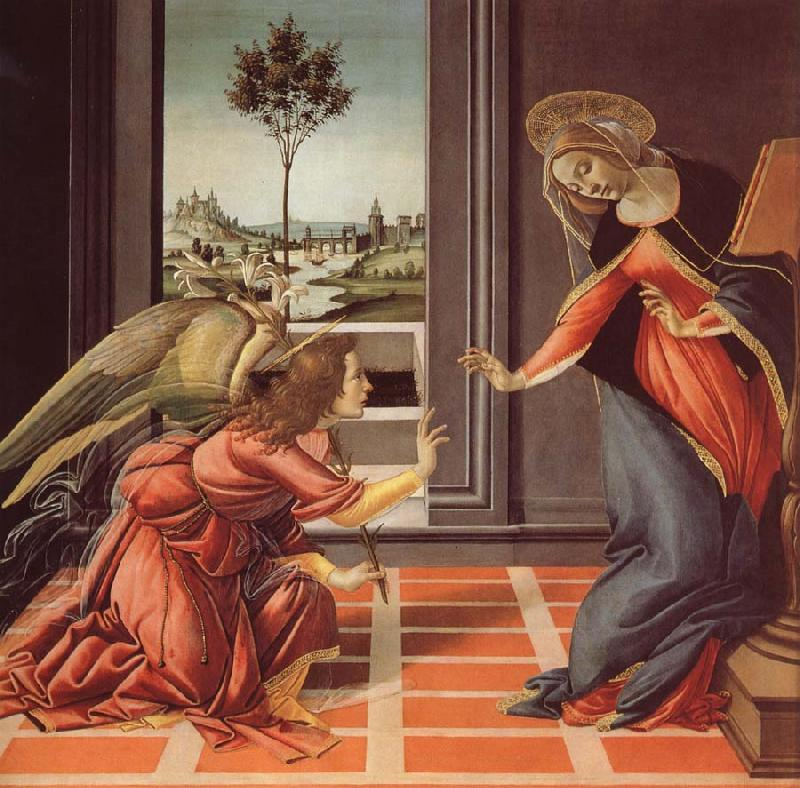 Sandro Botticelli The Annunciation