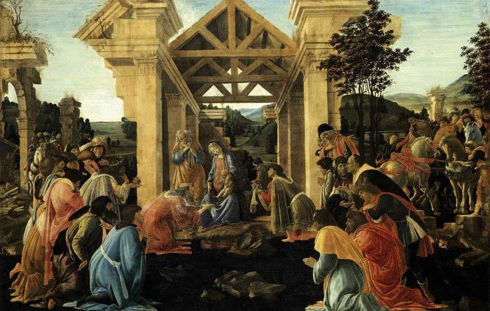 Sandro Botticelli Adoration of the Magi