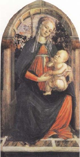 Sandro Botticelli Madonna and Child or Madonna of the Rose Garden