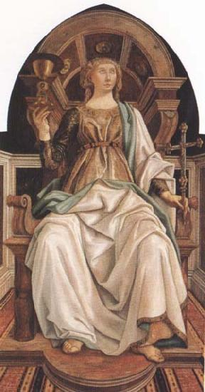 Sandro Botticelli Piero del Pollaiolo Faith
