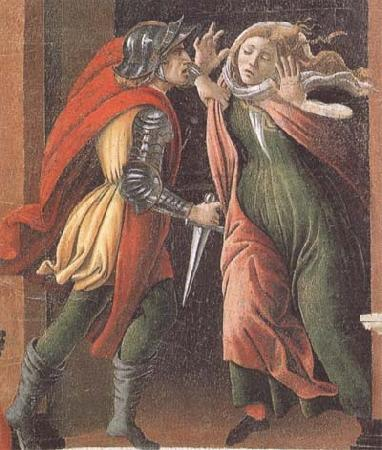 Sandro Botticelli Stories of Lucretia