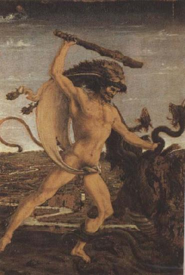 Sandro Botticelli ANtonio del Pollaiolo Hercules and the Hydra