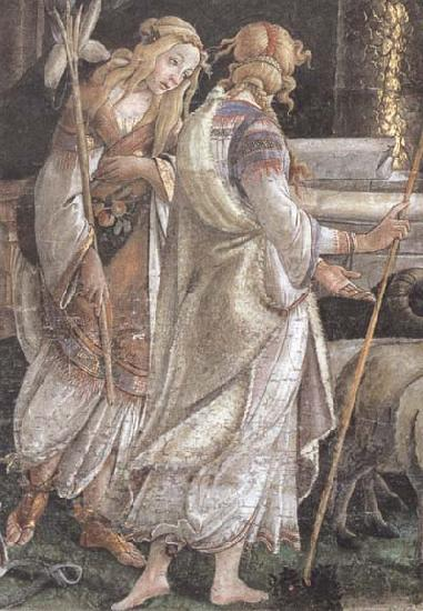 Sandro Botticelli Trials of Moses