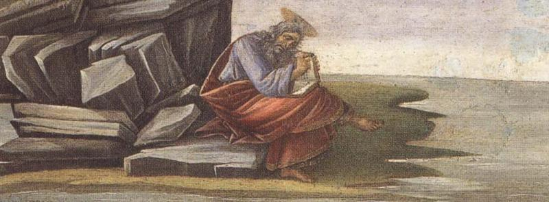 Sandro Botticelli St John the Evangelist at Patmos