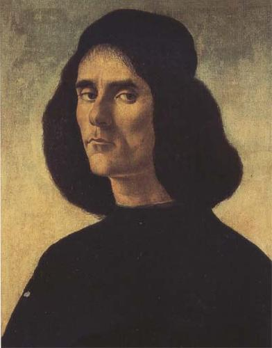 Sandro Botticelli Portrait of Michele Marullo