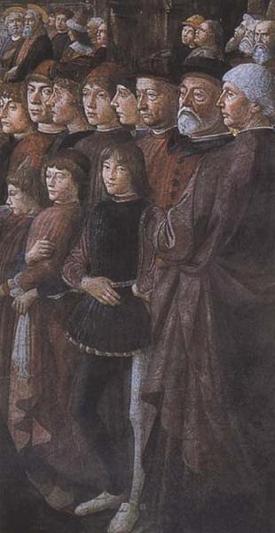 Sandro Botticelli Domenico Ghirlandaio,The Calling of the first Apostles,Peter and Andrew