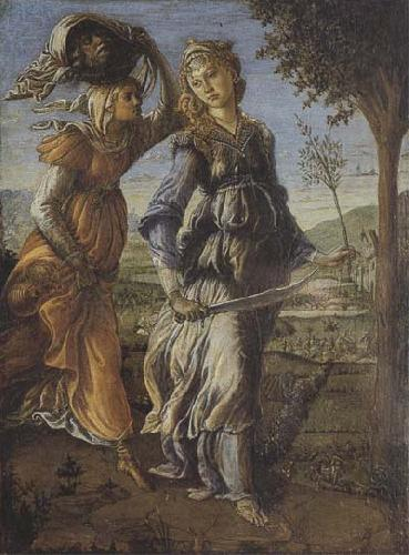 Sandro Botticelli Return of Judith to Betulia