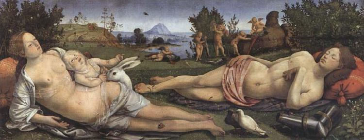 Sandro Botticelli Piero di Cosimo,Venus and Mars