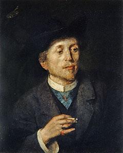 Anton Azbe Self portrait, date unknown, National Gallery of Slovenia.