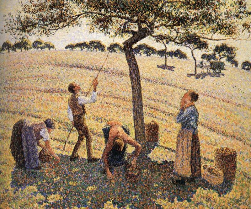 Camille Pissarro Apple picking