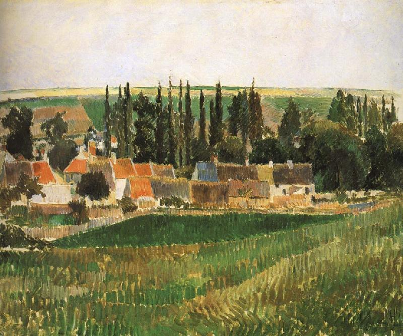 Camille Pissarro Hurrying scenery