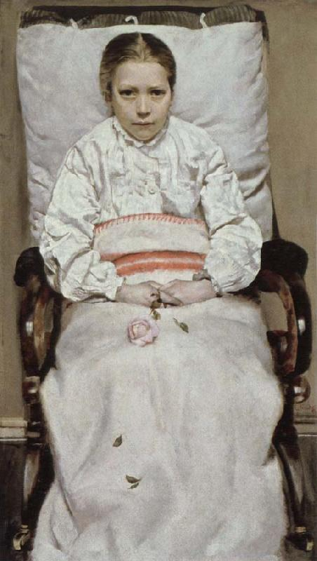Christian Krohg sick girl
