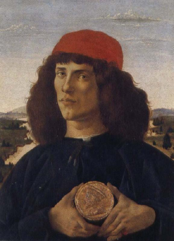 Sandro Botticelli Portrait Cosimo old gentleman