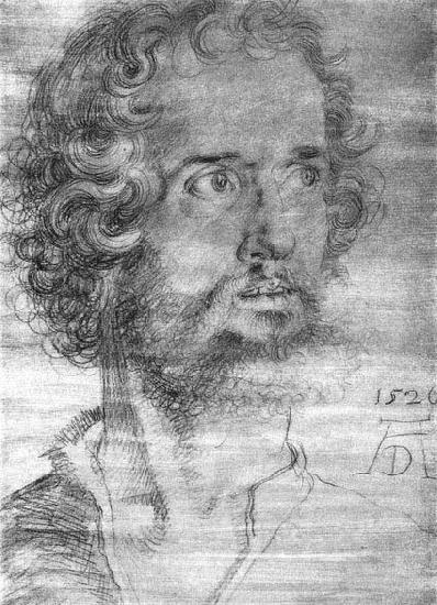 Albrecht Durer Head of St Mark