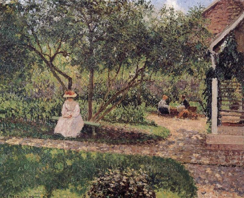 Camille Pissarro corner of the garden