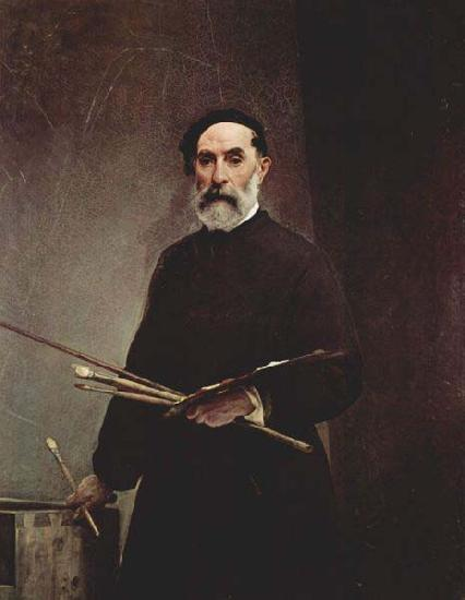 Francesco Hayez Self portrait at age 69