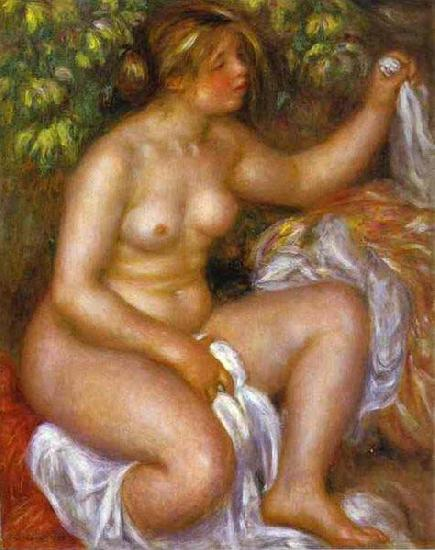 Pierre-Auguste Renoir After The Bath