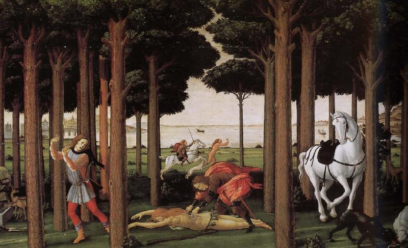 Sandro Botticelli Follow up sections of the story