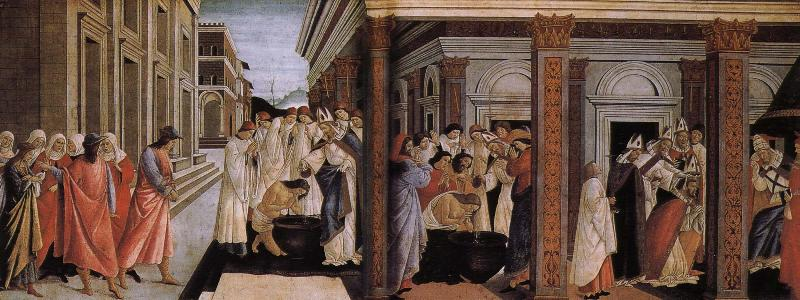 Sandro Botticelli Nobilo early St. Maas
