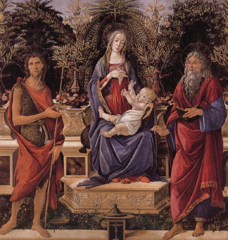 Sandro Botticelli Our Lady of subgraph