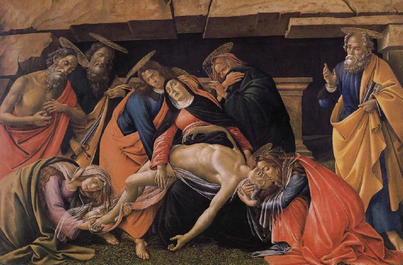 Sandro Botticelli Christ died